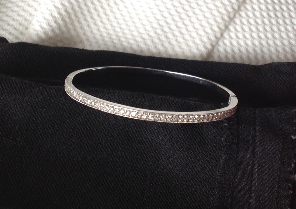 Tacori Diamond and white gold bracelet