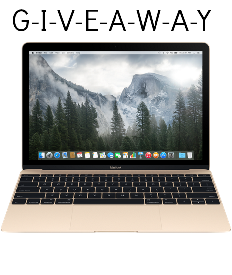 Anniversary Giveaway: GOLD MACBOOK Winner