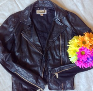 Tough Leather Jackets Looking Pretty