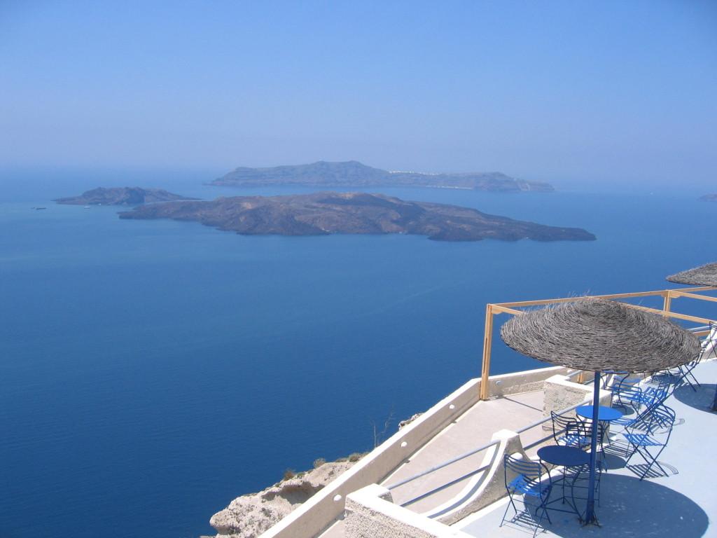 Wish I were in Santorini
