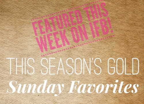 Sunday Favorites Featured on Links à la Mode!