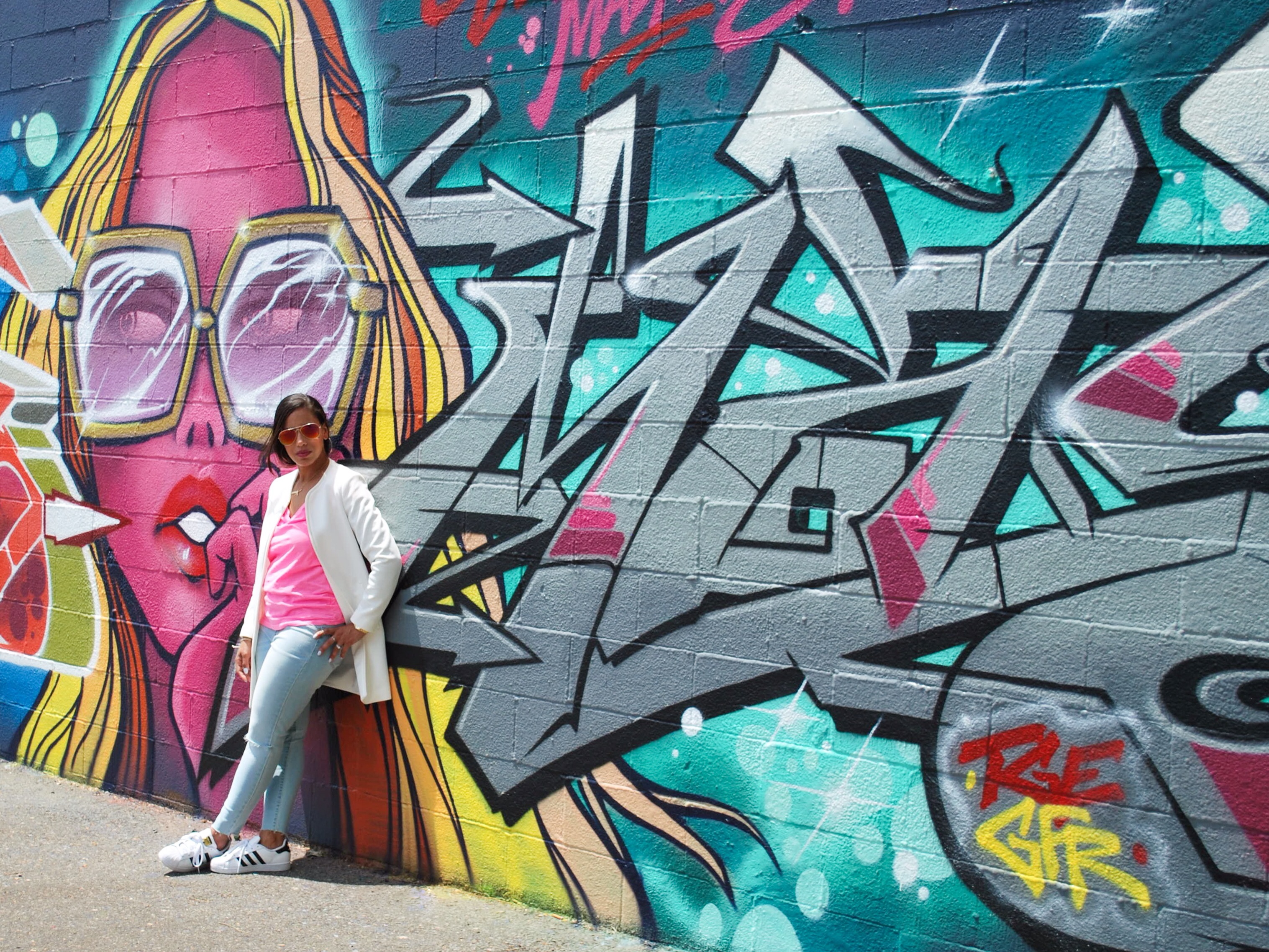 Out and About :: Neon and Street Art