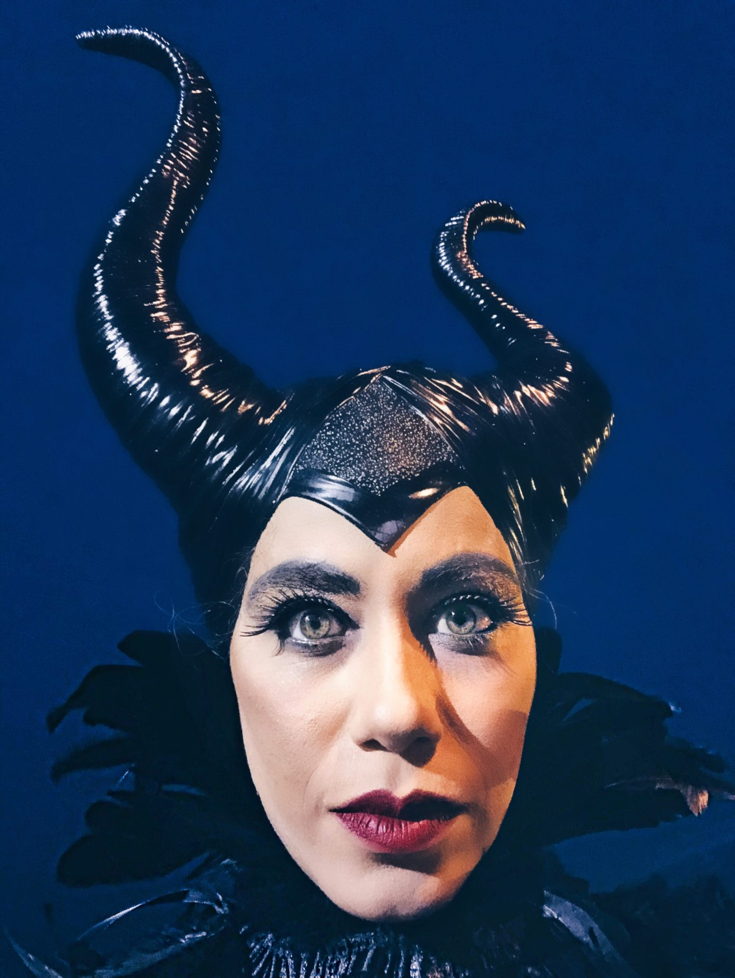 Halloween Maleficent Makeup
