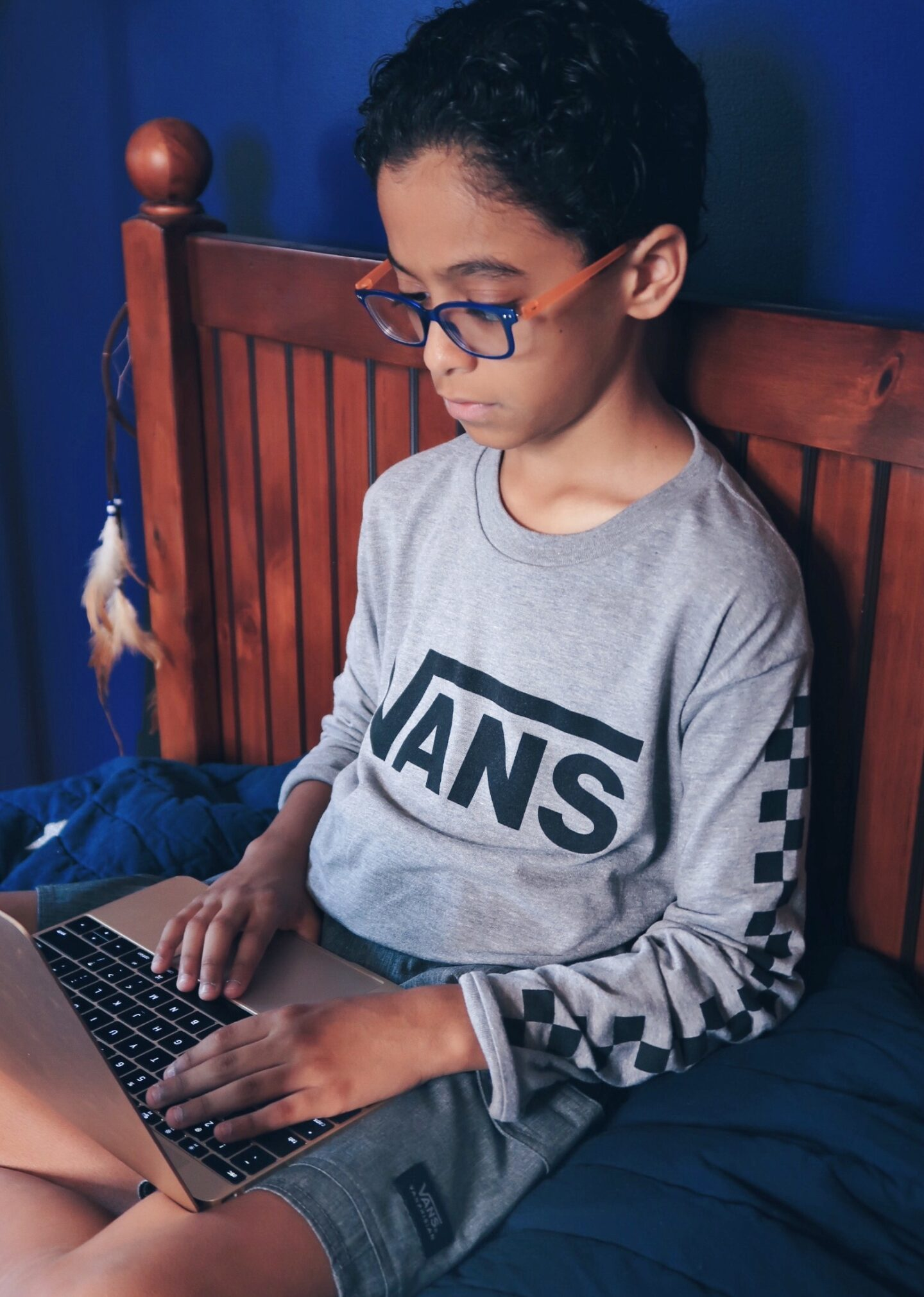 learning from home school