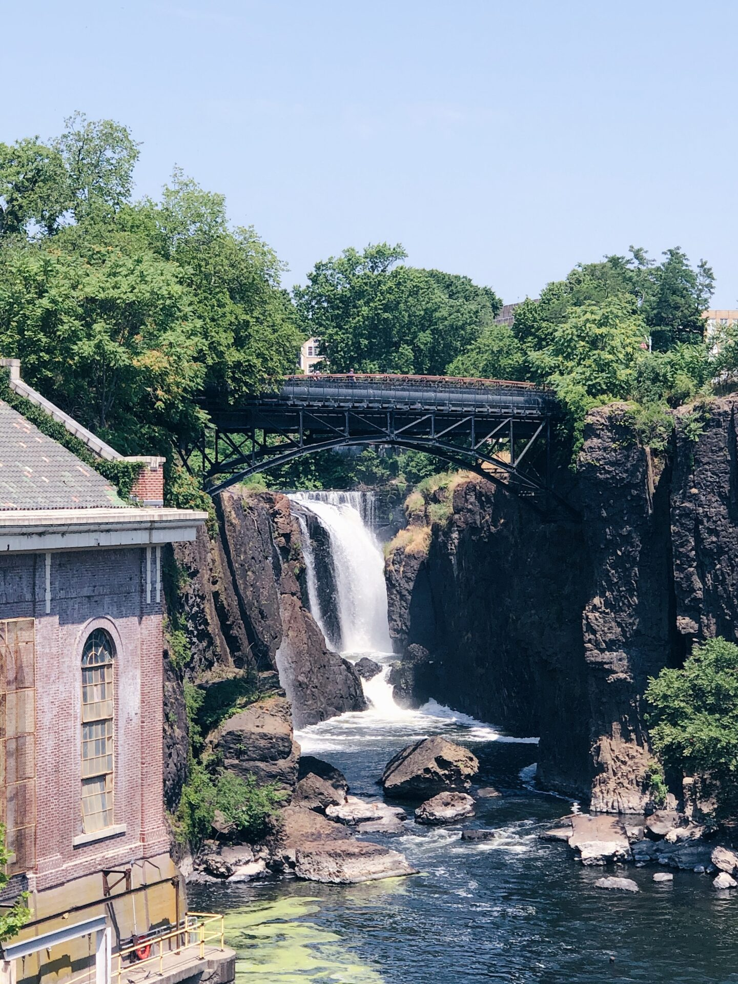 Paterson Great Waterfall bridge