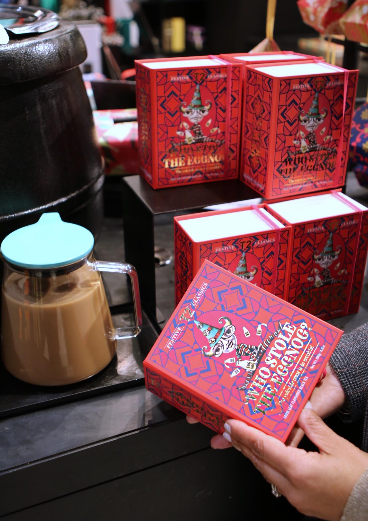 tea gift at Rockefeller Center
