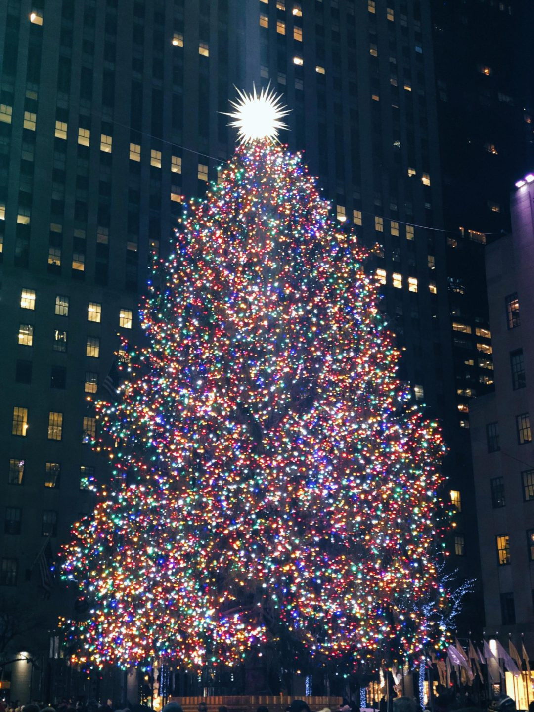 holidays at Rockefeller Center