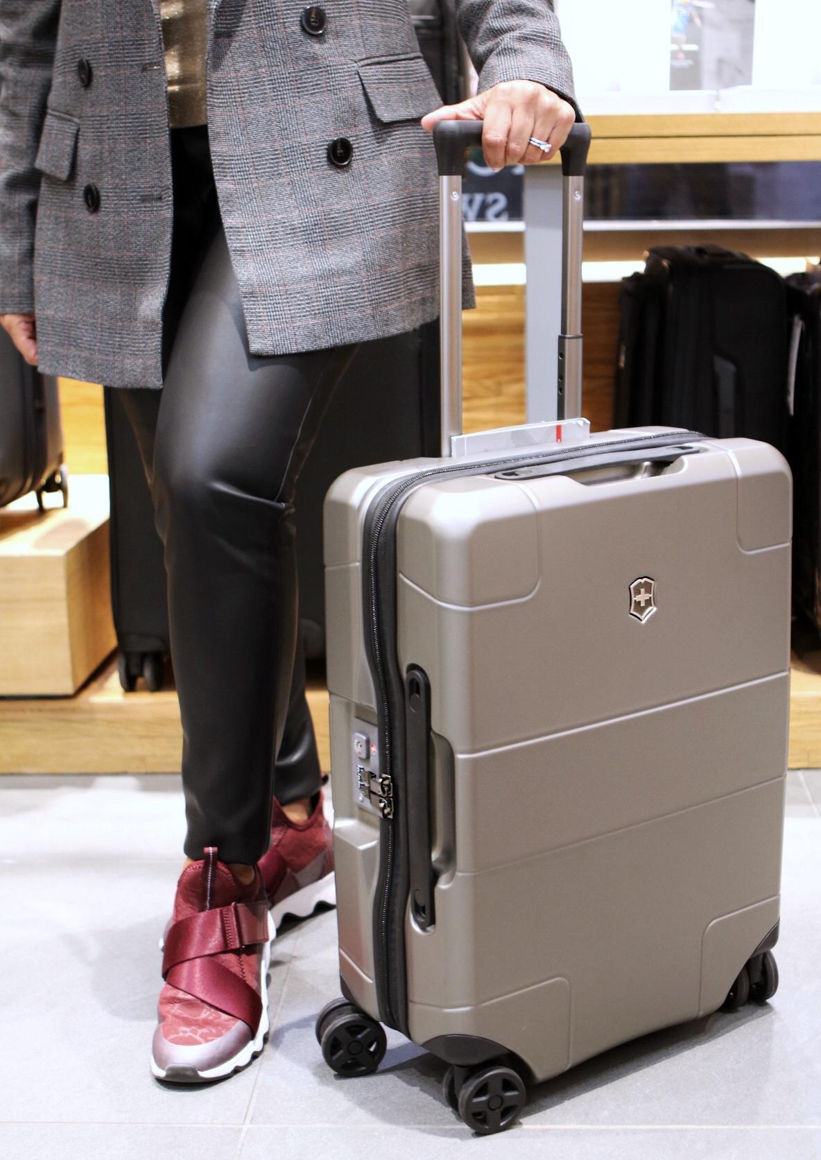 Victorinox - luggage at Rockefeller Center