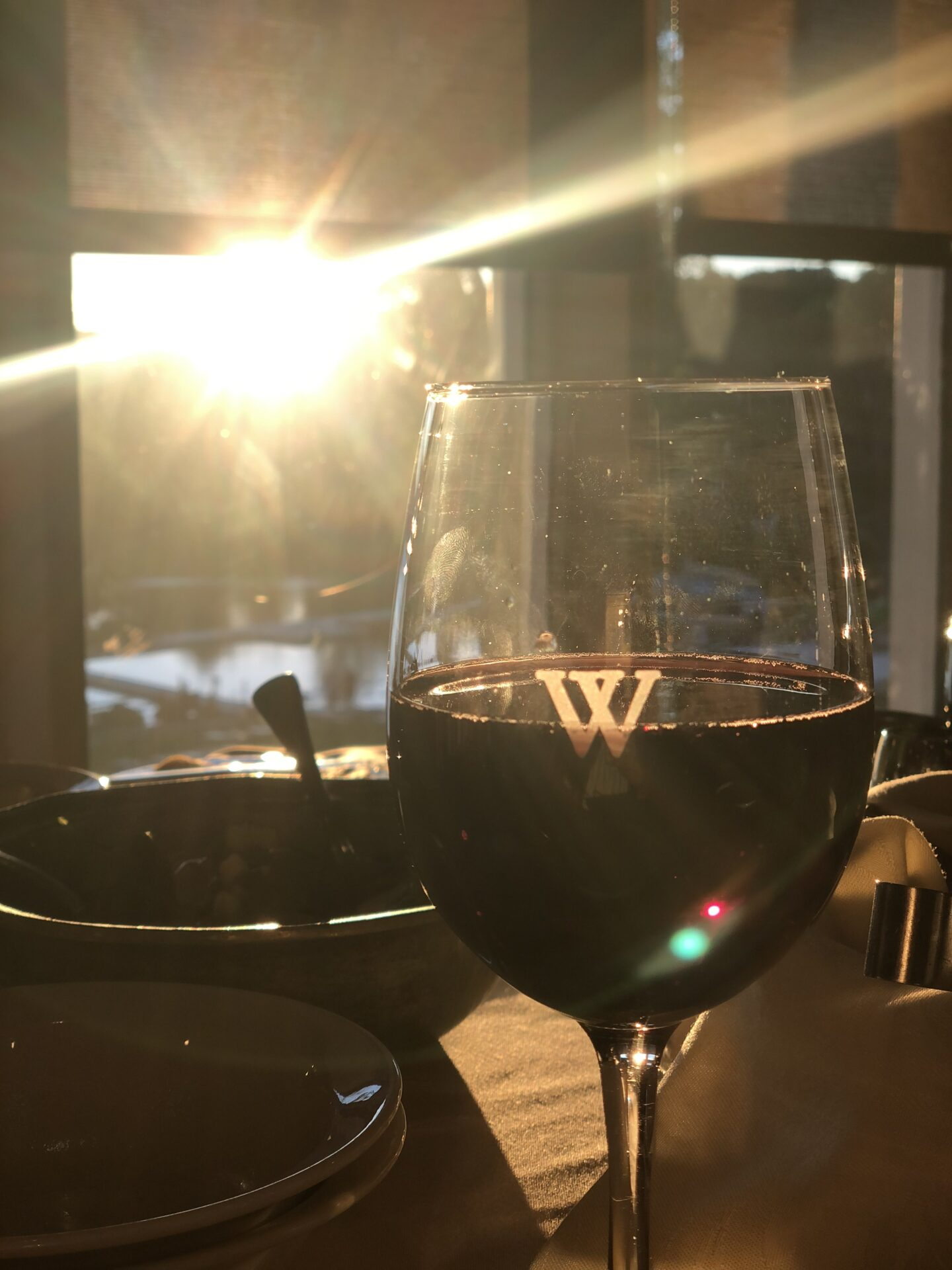 Woodloch Resort Weekend wine