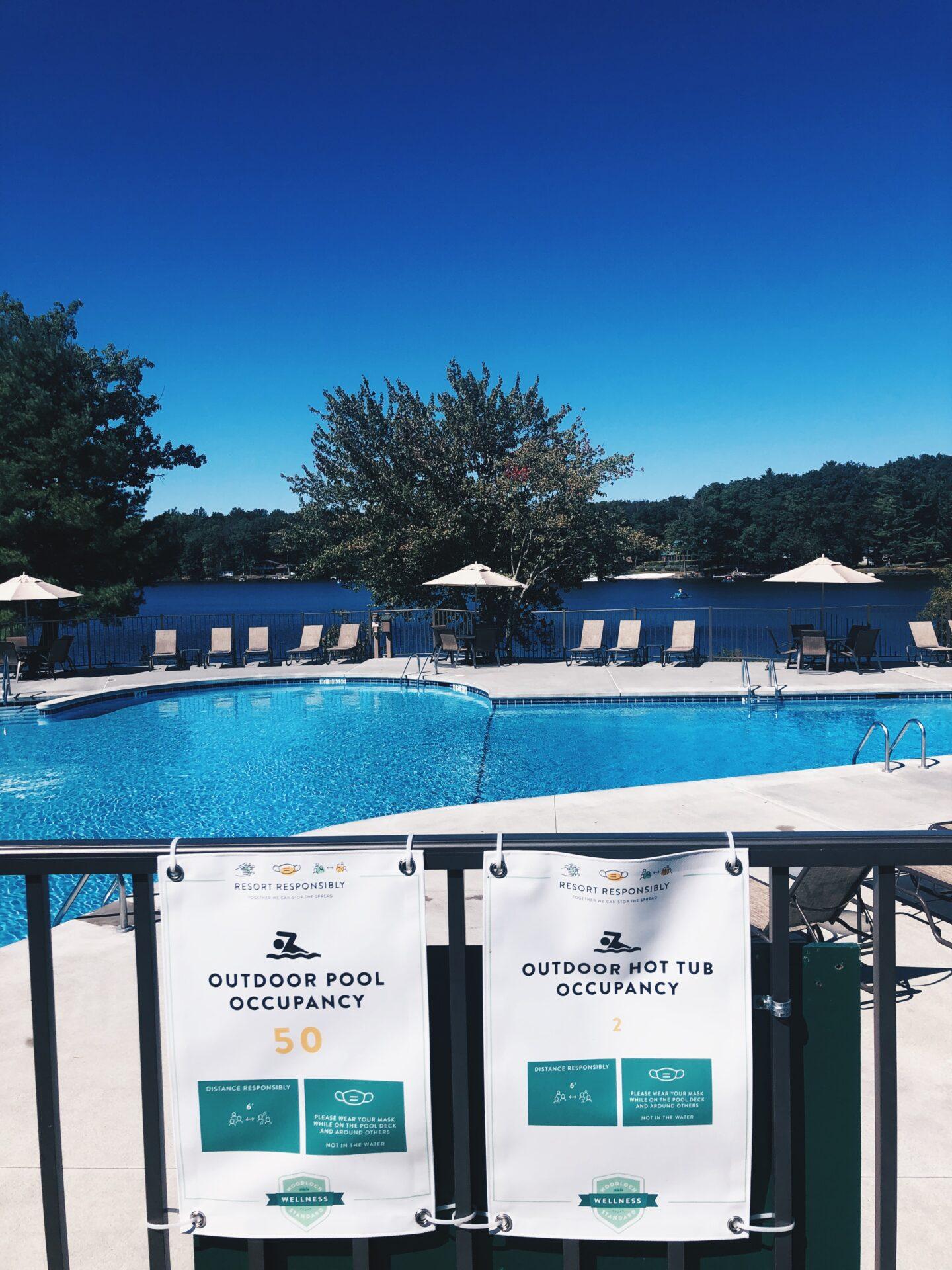 Woodloch Resort Weekend pool
