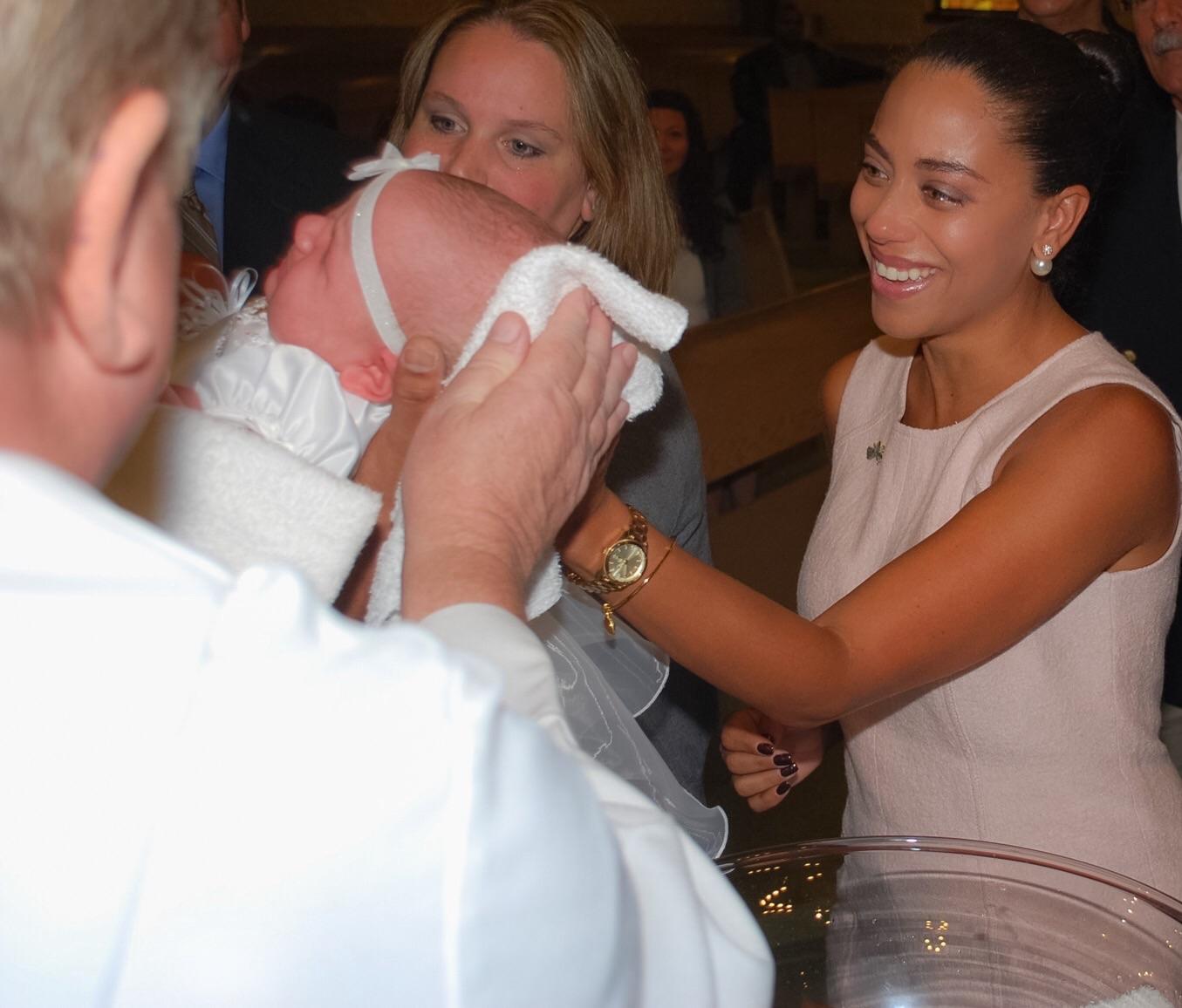 baby girl baptism
