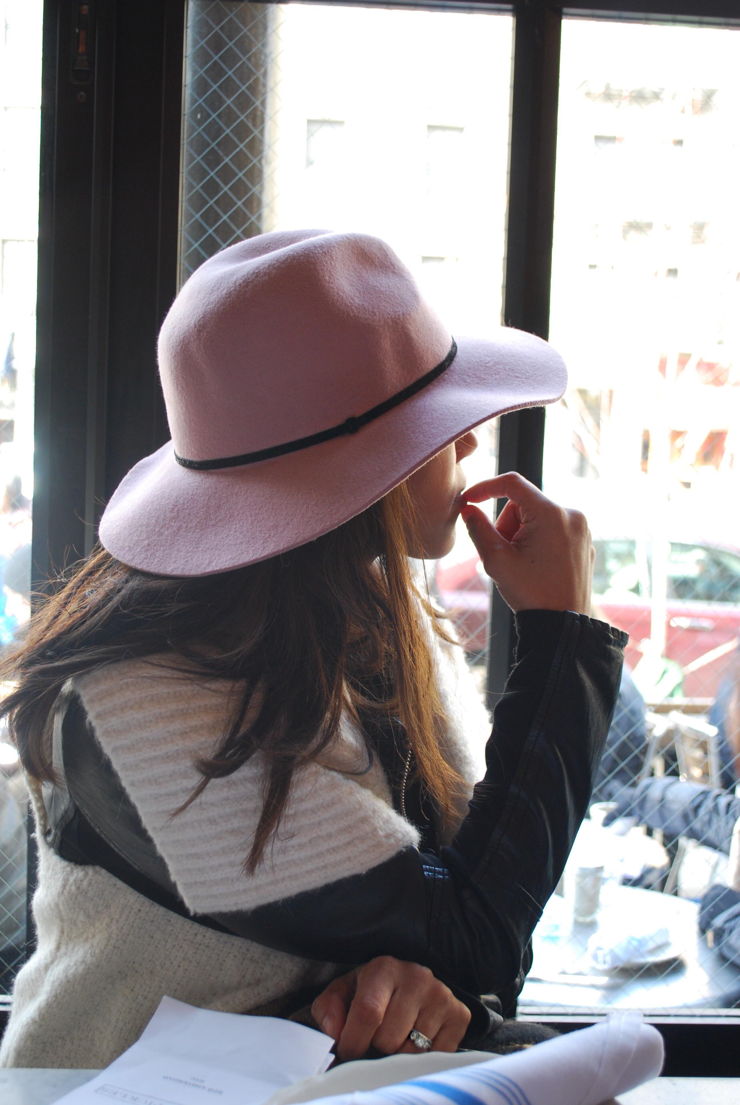 Forever 21 Pink Floppy Hat