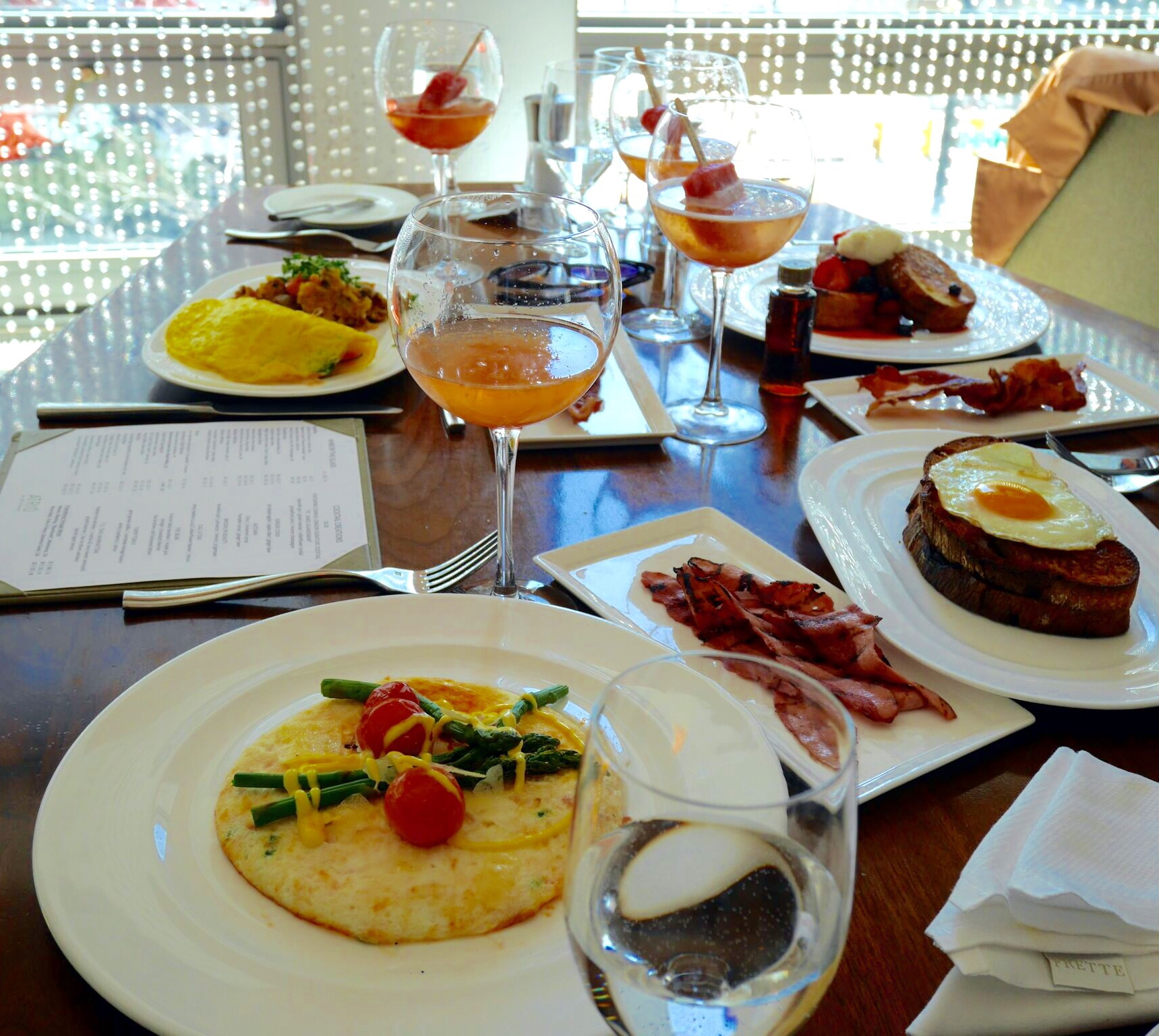 This Season's Gold // Sunday Brunch - Conrad Hotel NYC