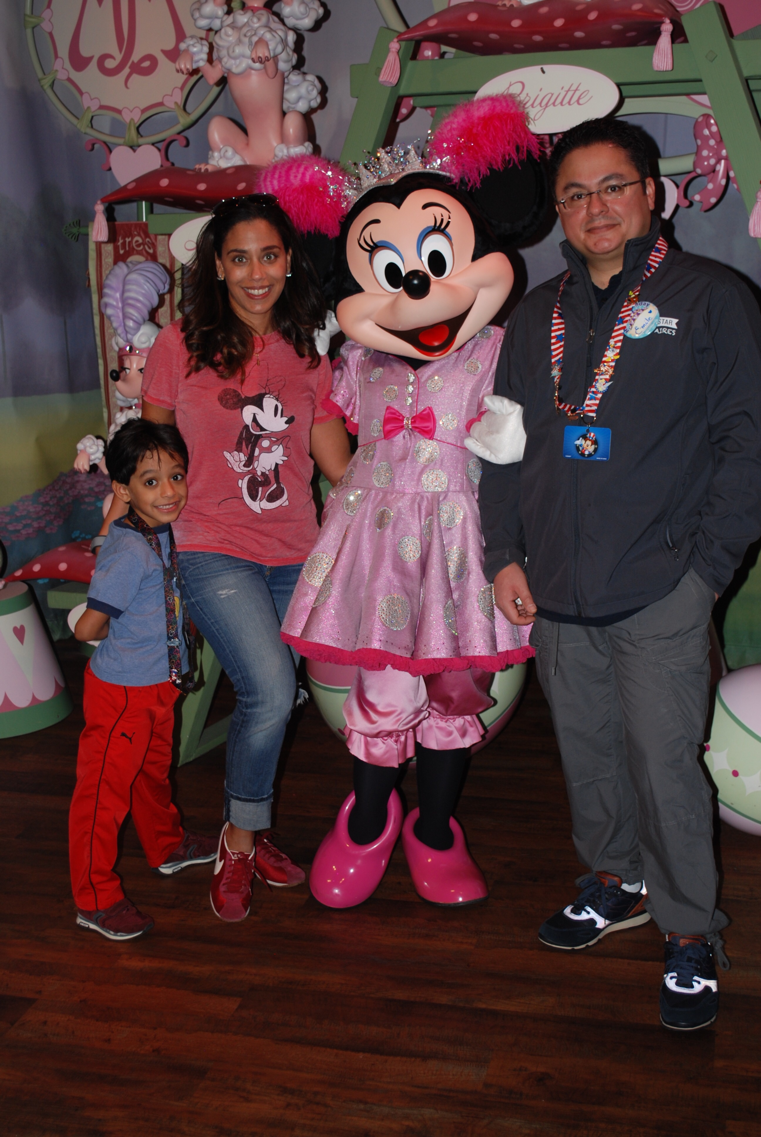 Family Fun at Disney World with Minnie