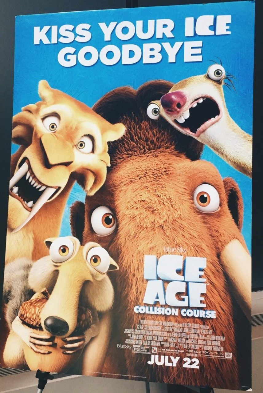 Ice Age // Going to the Movies