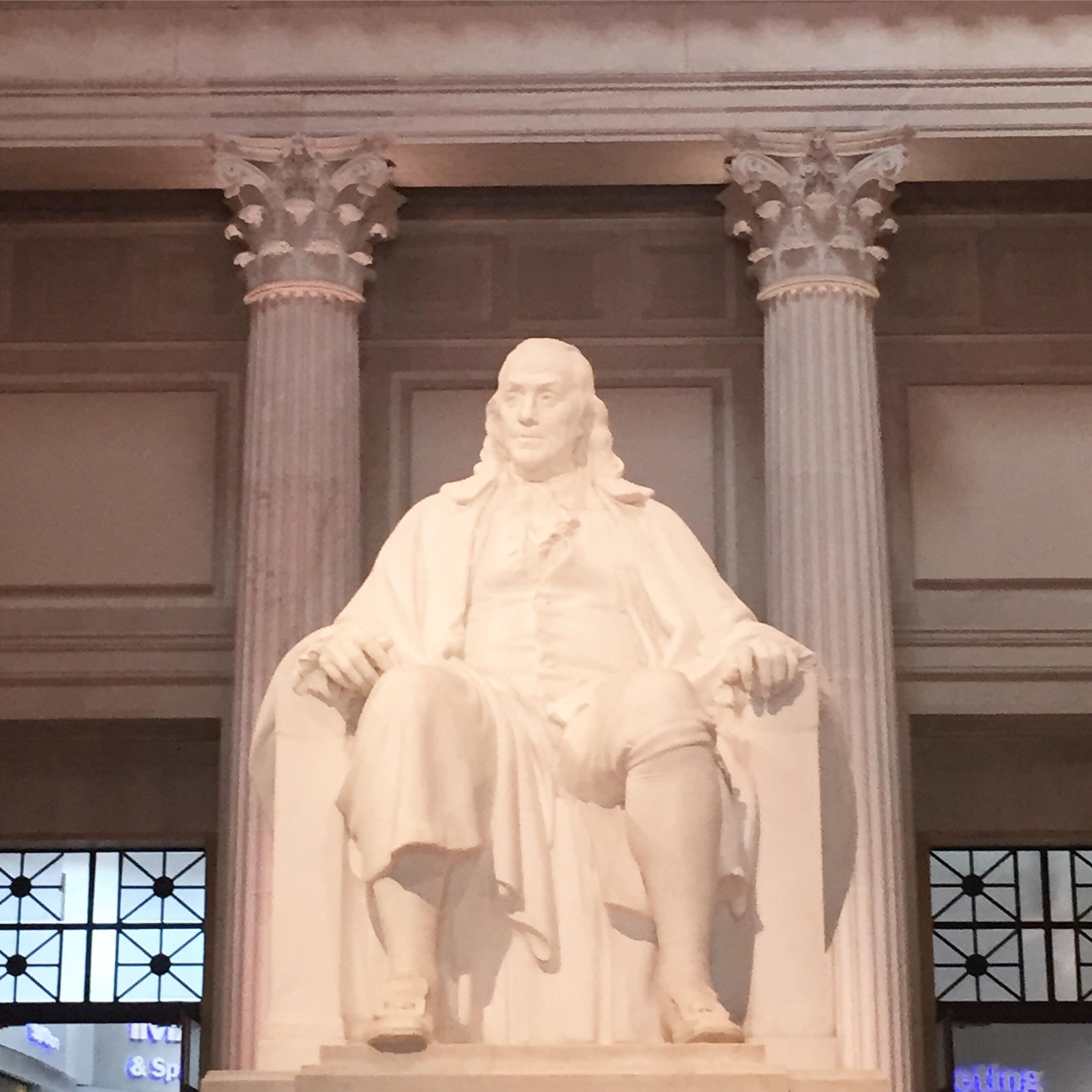 Franklin Institute - Ben Franklin Memorial