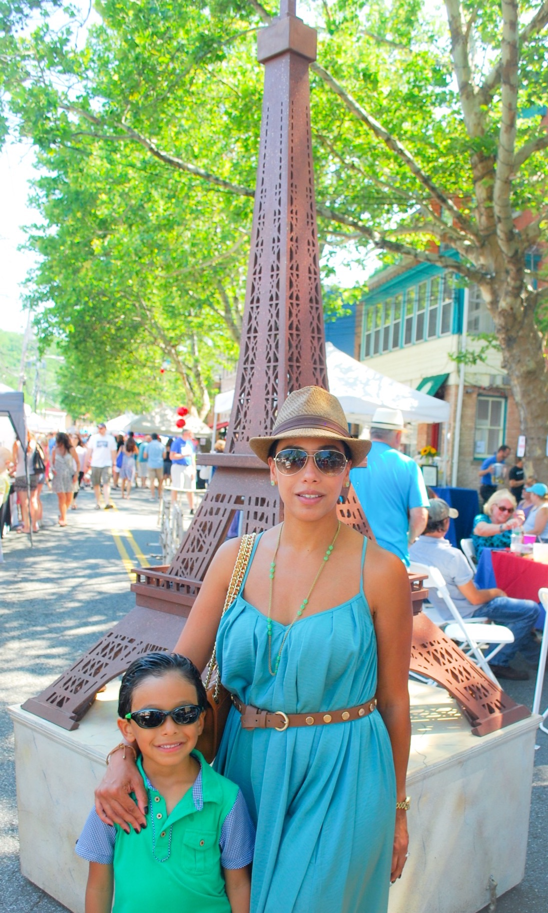 mom and son festival outfit