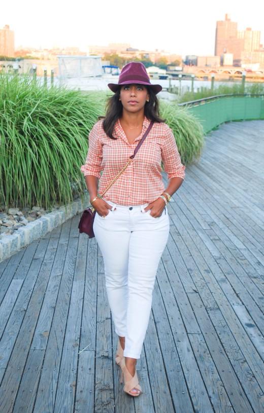 Burgundy Plaid