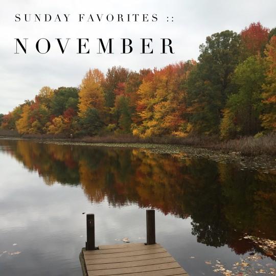 november reflection on the lake