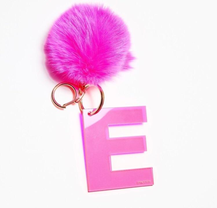 Pom pom key chain gift