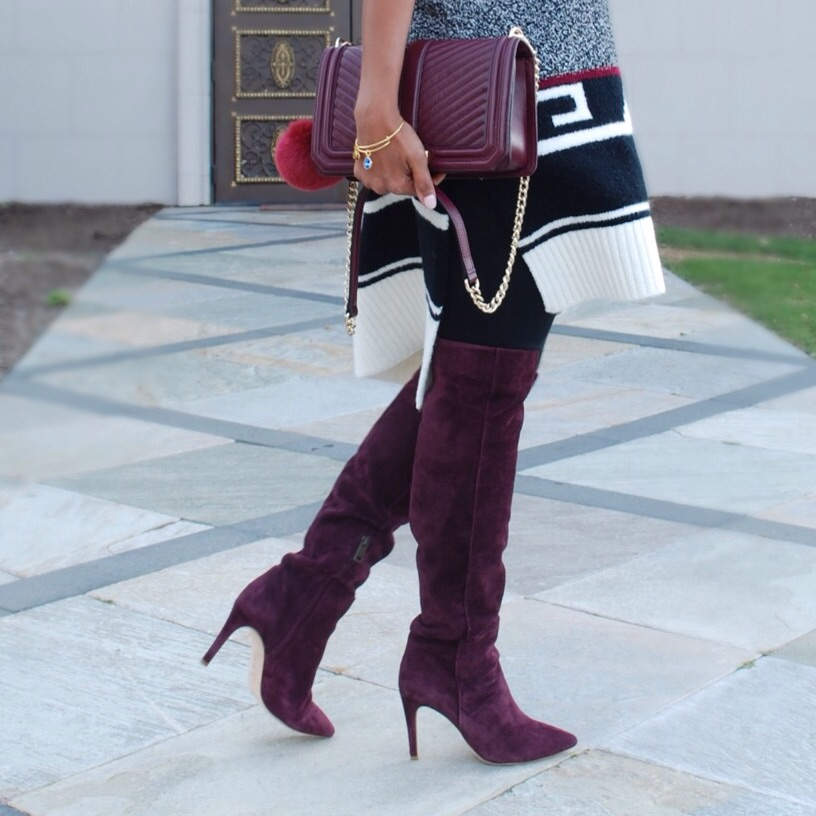 Joie Over the Knee Boots