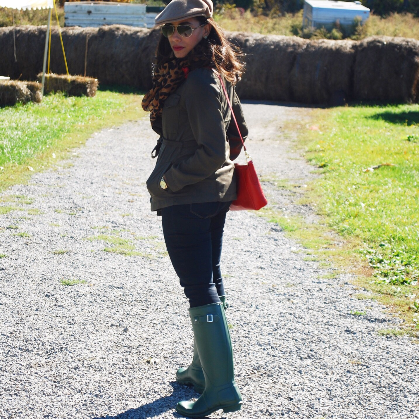 Outdoors fall outfit
