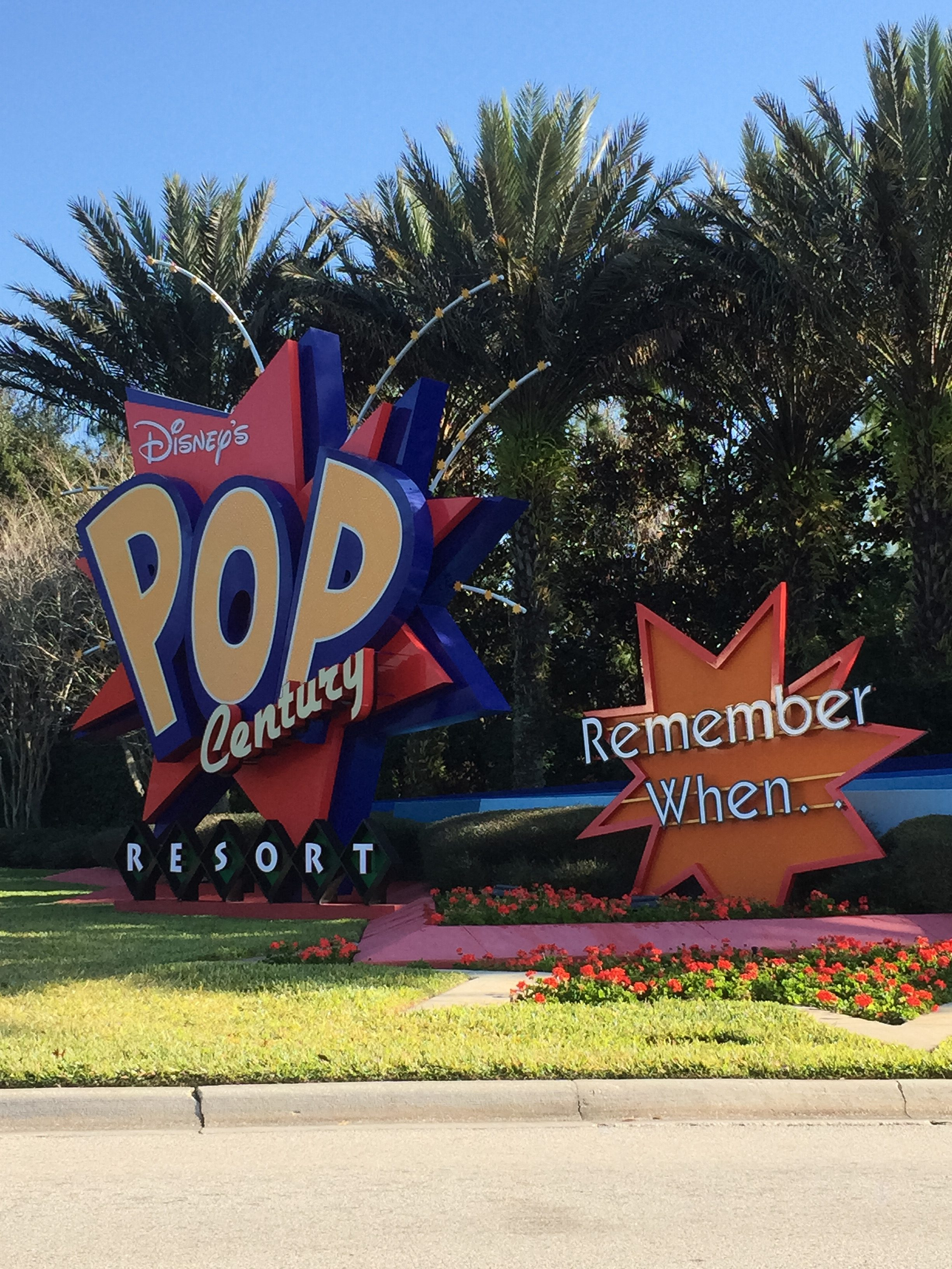 Pop Century Resort - Disney World