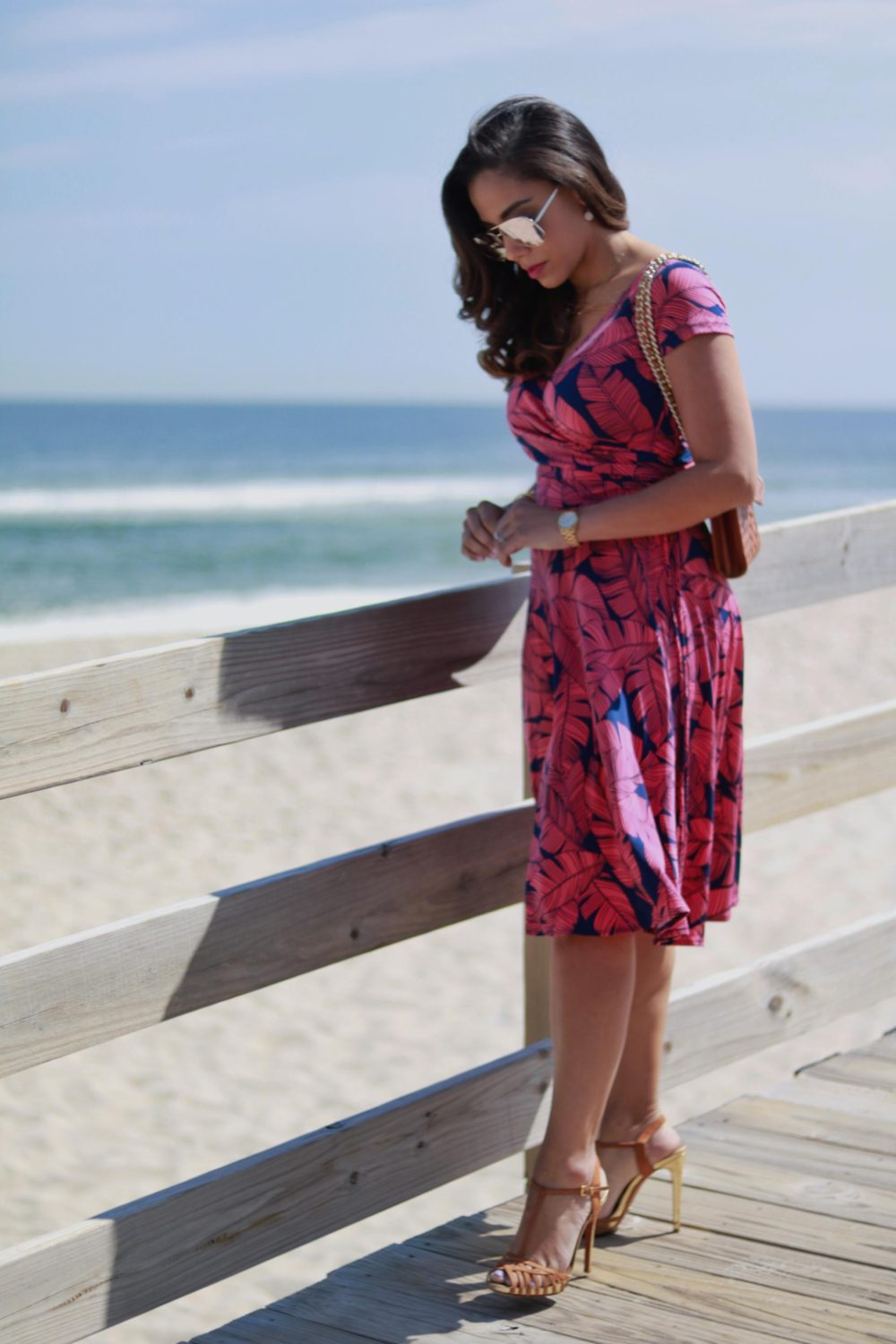 Seaside Style // The Must-Have Jersey Wrap Dress