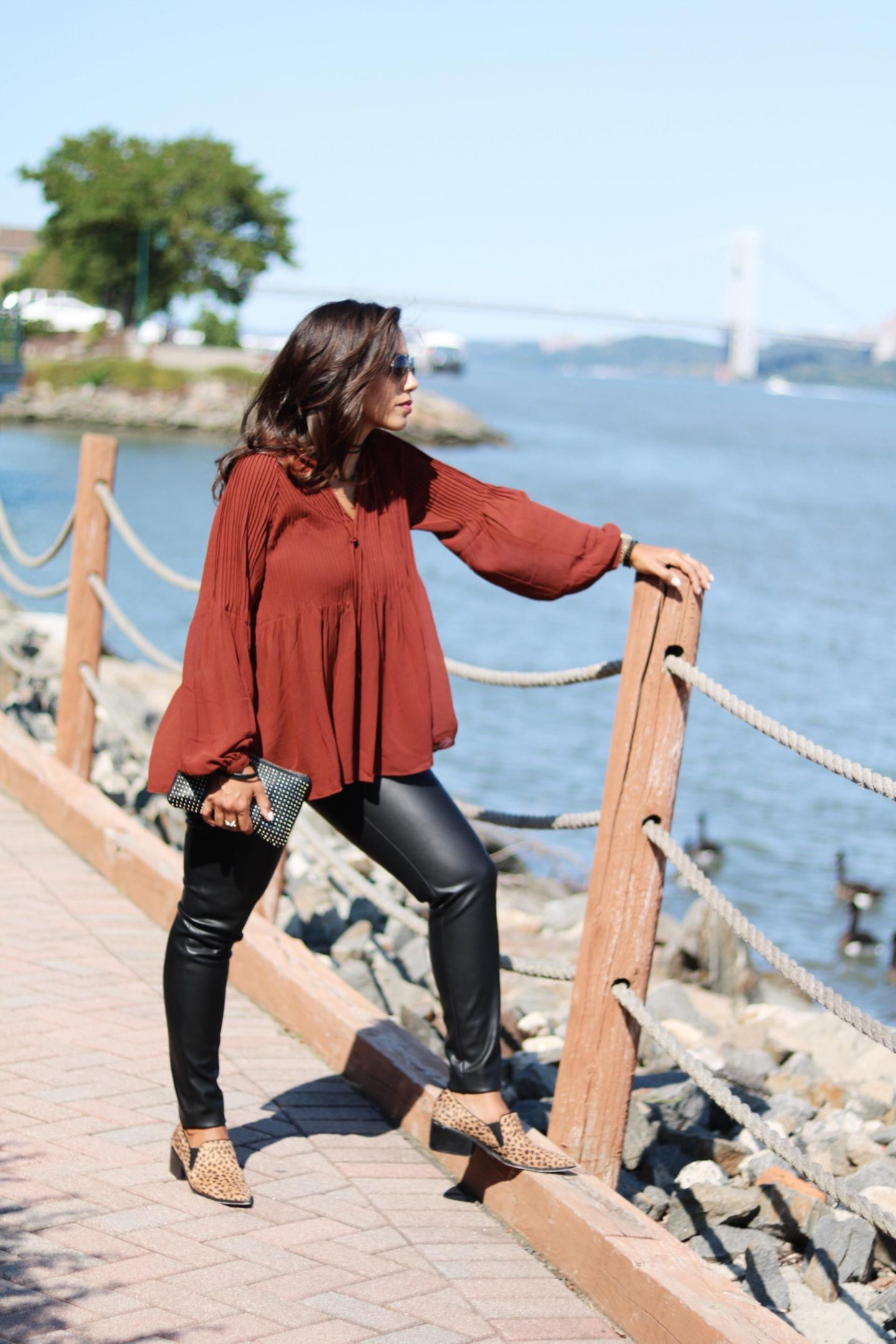 This Season's Gold // Ann Taylor outfit