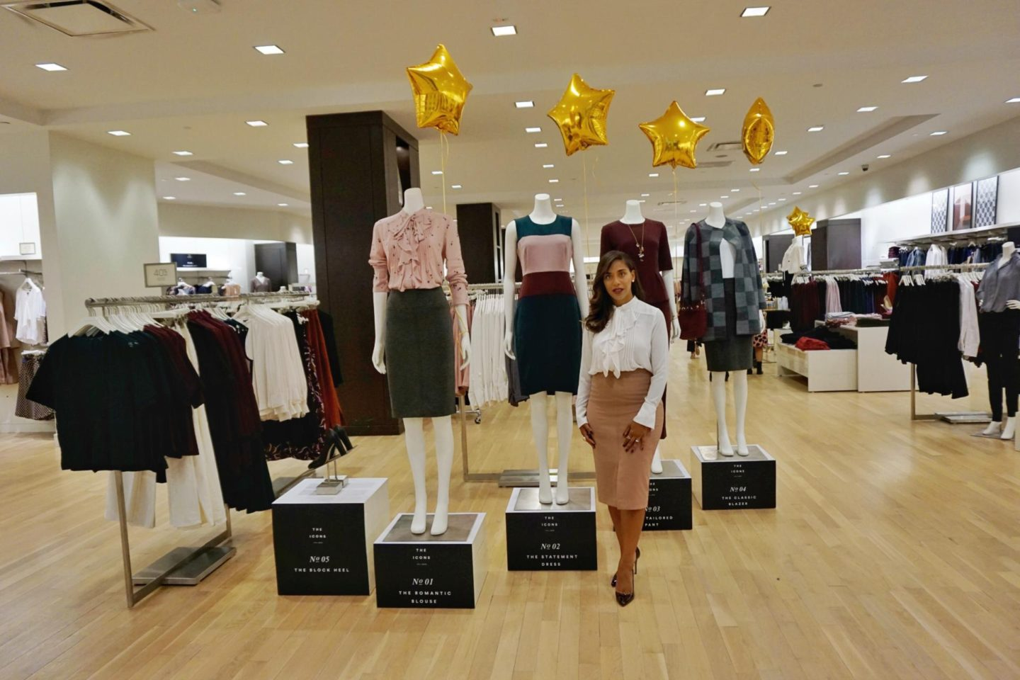 This Season's Gold // Ann Taylor style event