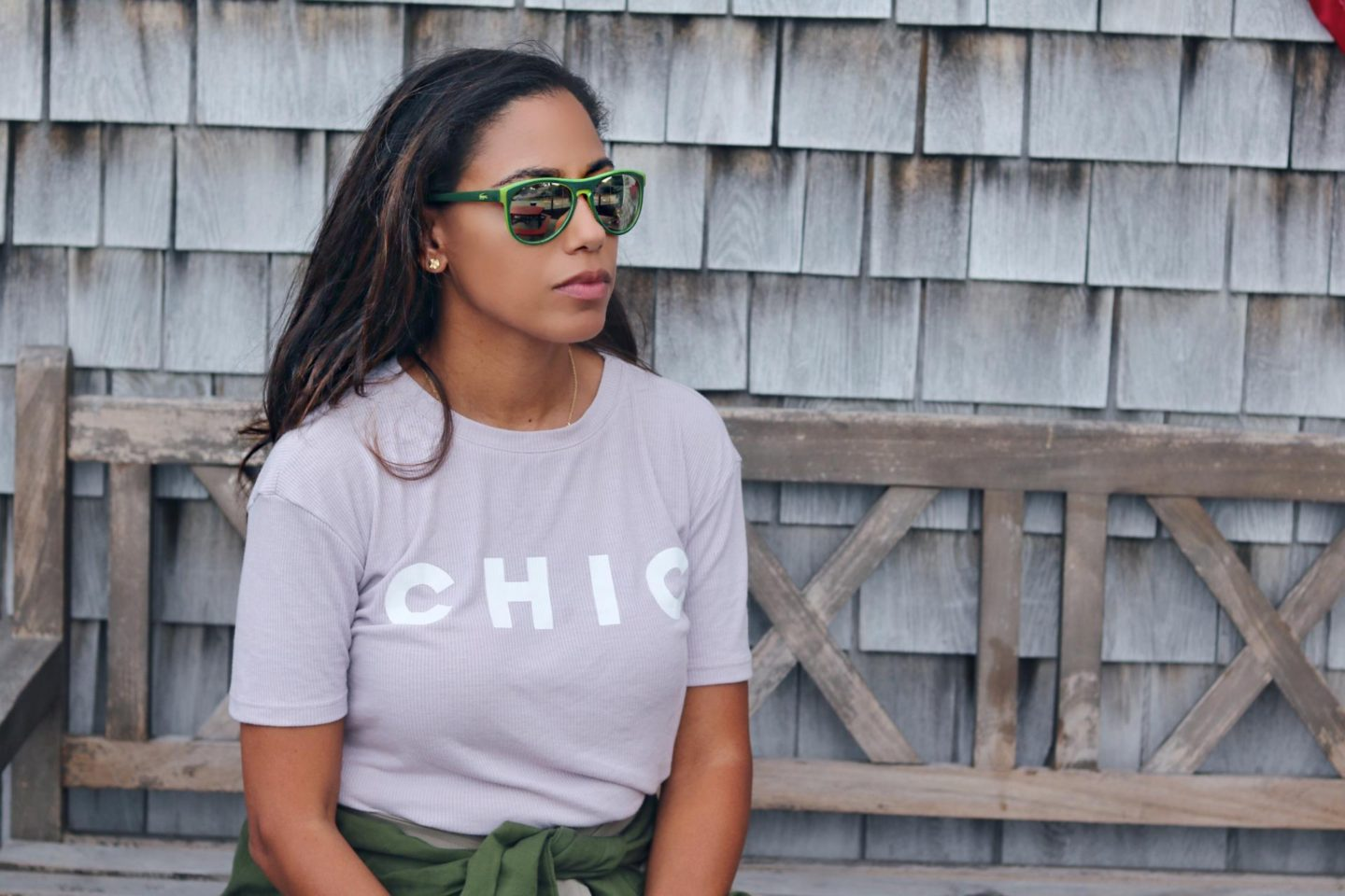 This Season's Gold // Casual Chic Tee
