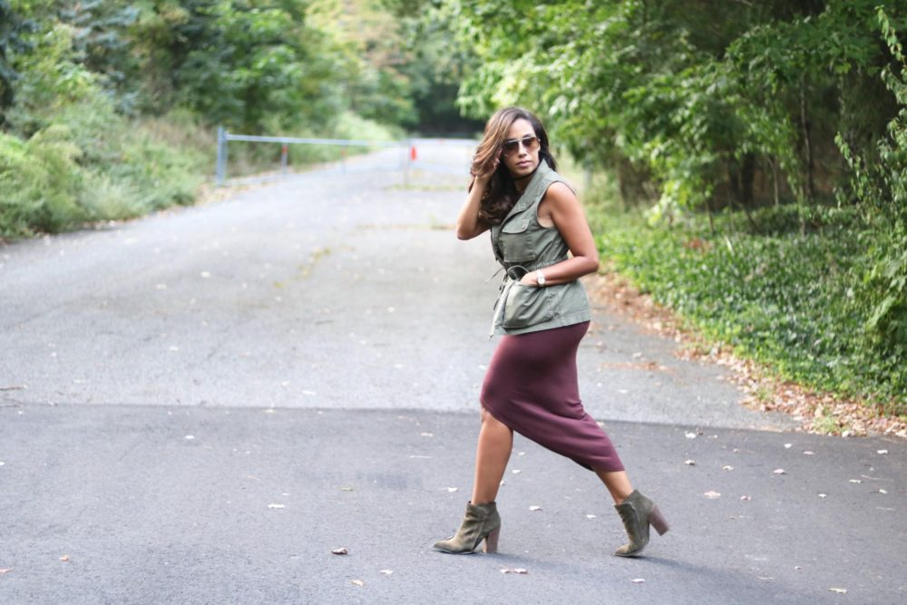 Changing Seasons // How to Wear Fall Colors