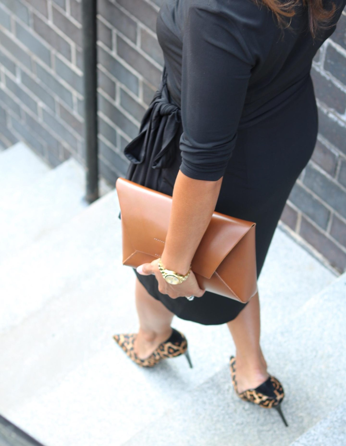 This Season's Gold // Changing Season - Leopard Print heels