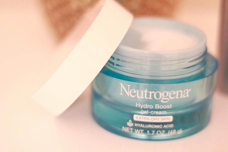 This Season's Gold // Neutrogena Hyalluronic skin cream