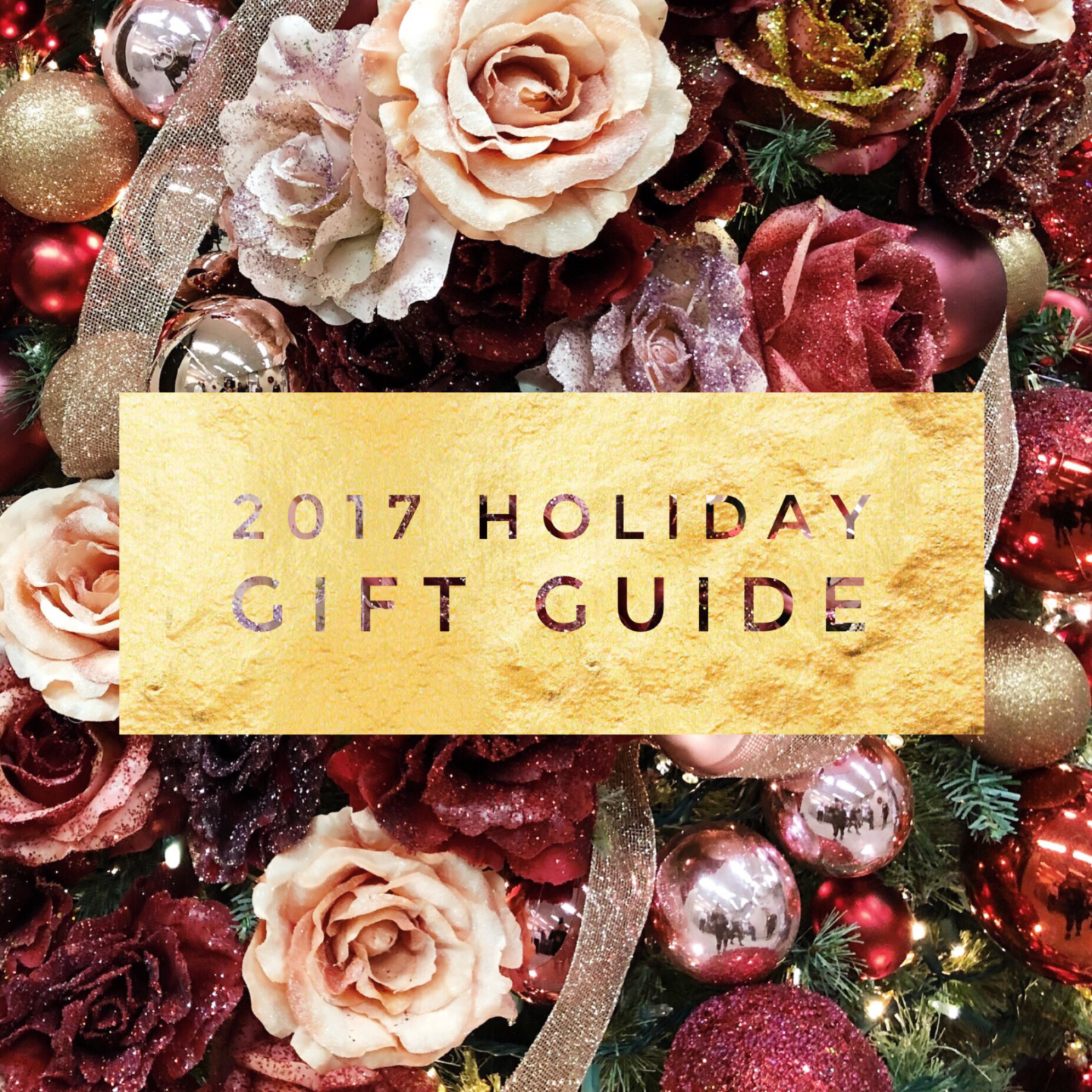 This Season's Gold // 2017 Holiday Gift Guide