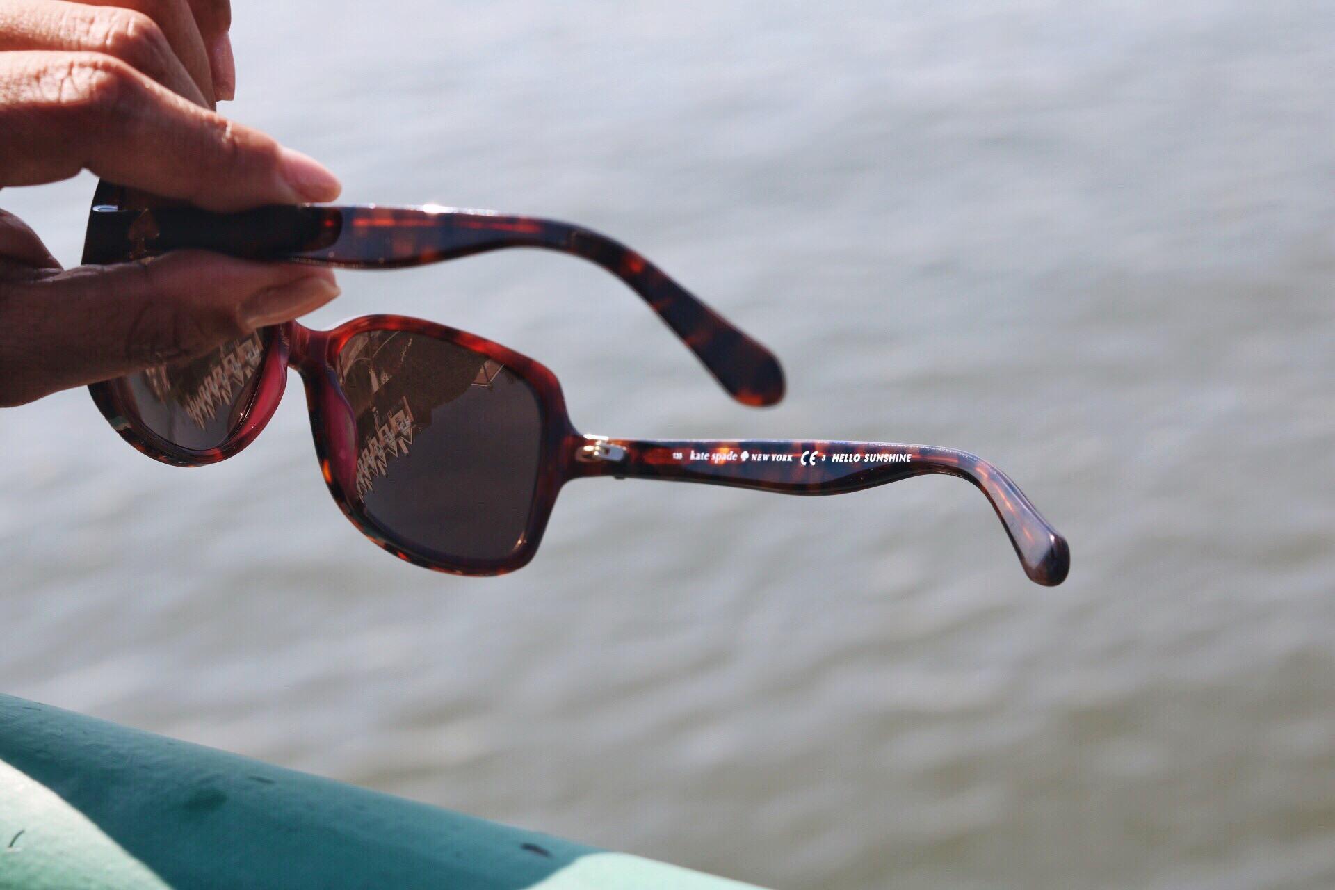 This Season's Gold // Kate Spade Hello Sunshine sunglasses