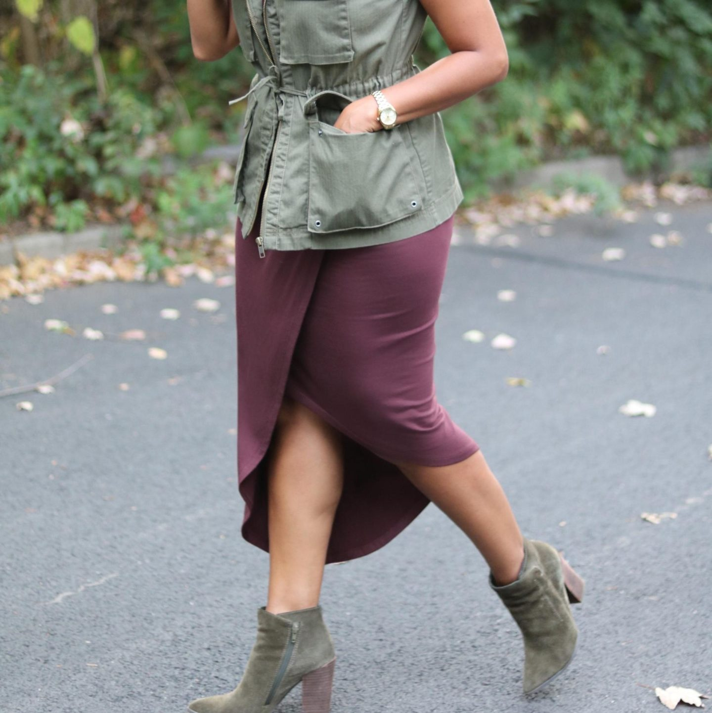 This Seasson's Gold // How to Wear Fall Colors 7